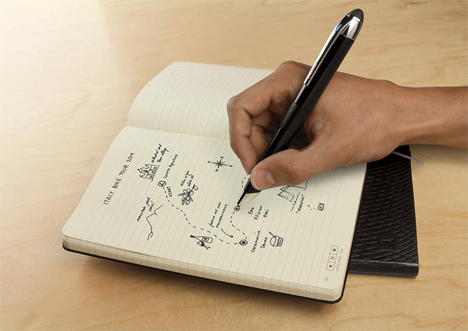 livescribe moleskine notebook