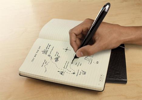 livescribe moleskine notebook