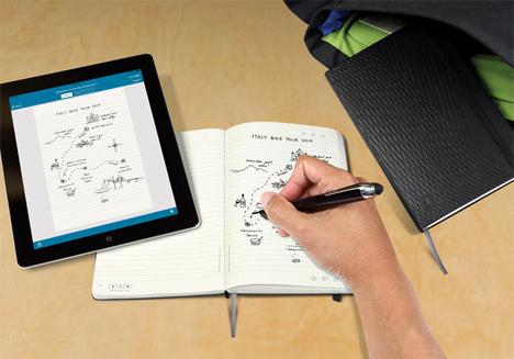 livescribe notebook by moleskine