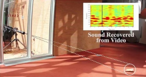 mit research recreates sound from high speed video