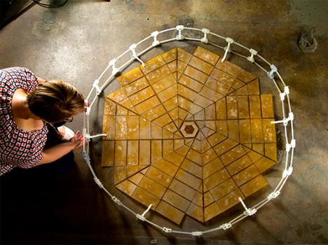 miura fold solar array