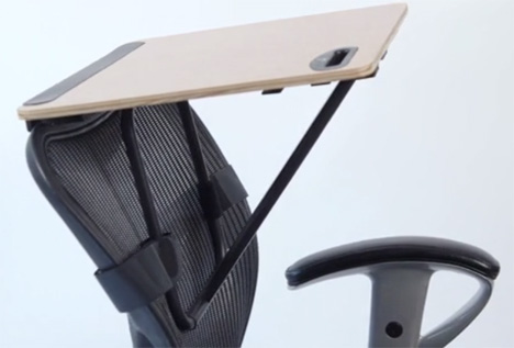 office chair back standing desk