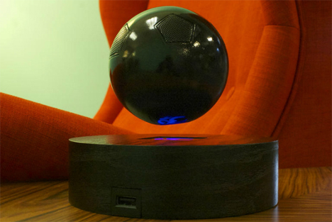 om one levitating orb speaker