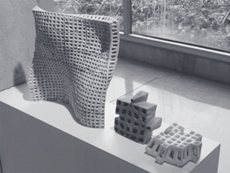 polybricks lightweight 3d printed ceramic building bricks