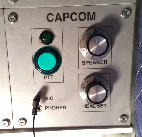 spaceship controls