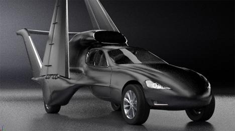 transforming flying car