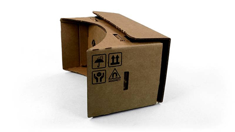 12 folding cardboard smartphone virtual reality headset