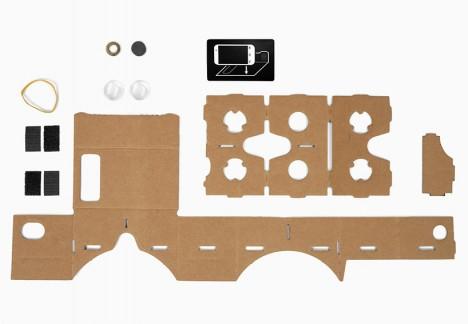 4 google cardboard folding cardboard virtual reality