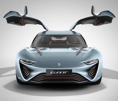 4 salt water powered electric car