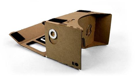 7 folding cardboard virtual reality headset