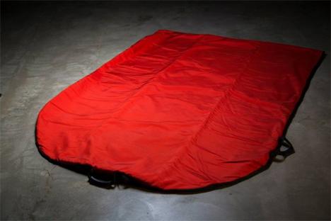 ballistic nylon protective tornado shelter bag