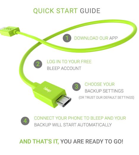 bleep quick start guide