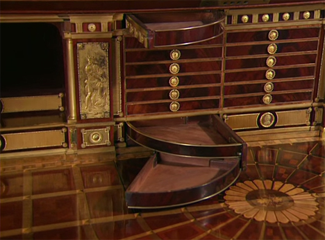 Spectacular 200 Year Old Desk Full Of Hidden Mechanisms