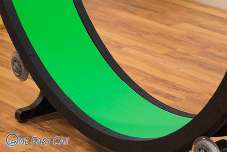 interior tread one fast cat