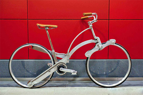 sada hubless folding city bike