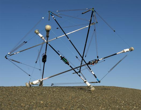 tensegrity structure space exploration robot