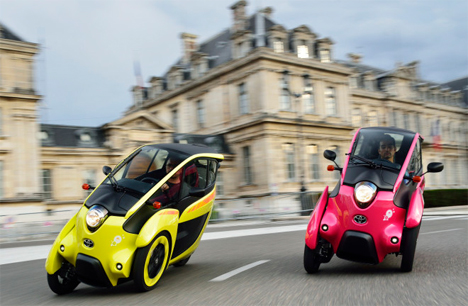 toyota s tiny evs bring last mile green transpo to. Black Bedroom Furniture Sets. Home Design Ideas