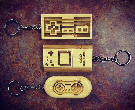8 bit flash drives
