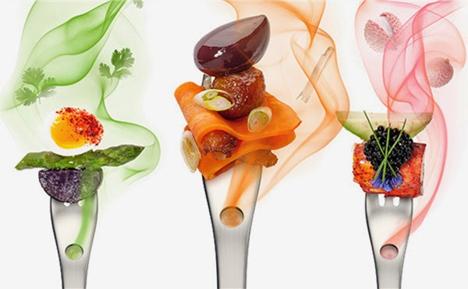 aromafork multi-sensory eating experience