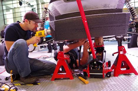 carbon fiber 3d printed car