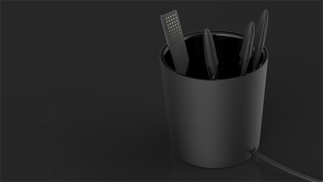 charging pen holder greater than