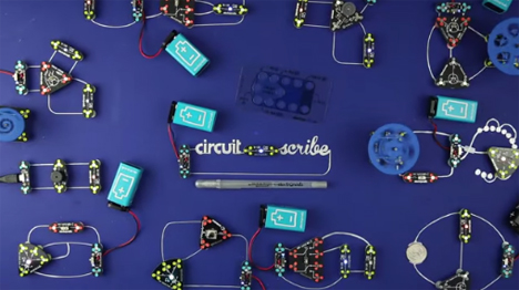 conductive ink pen draw circuits on paper