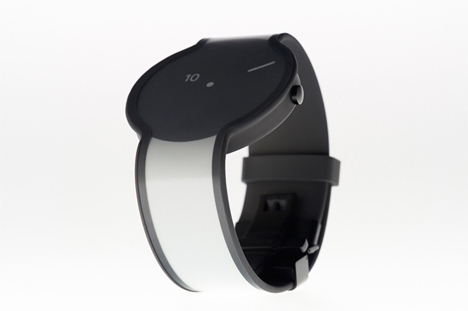 design changing e-ink watch