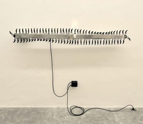involucion primate kinetic sculpture