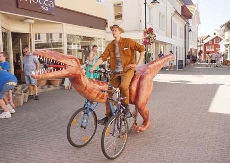 markus moestue dinosaur bike