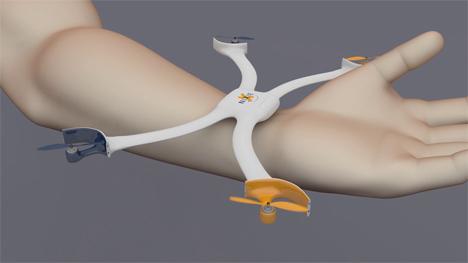 nixie flying wearable camera