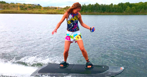 radinn electric wakeboard