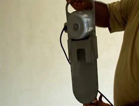 venus bucket mounted showing machine