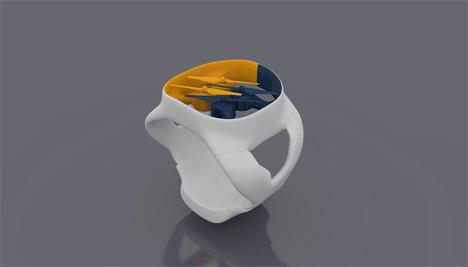 wearable wrist drone