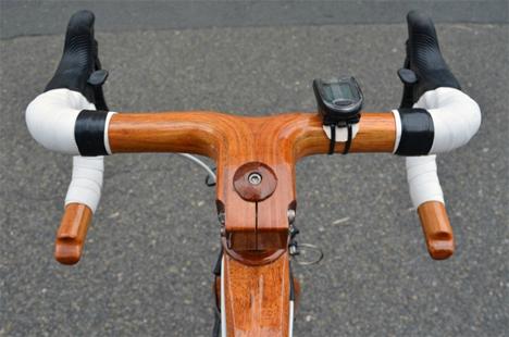 7 custom handcrafted mahogany bikes shipwright
