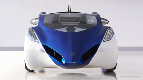 aeromobil car with wings