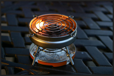 altoids tin recycled miniature grill