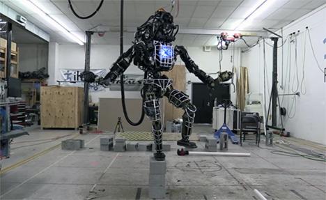 atlas self-balancing robot