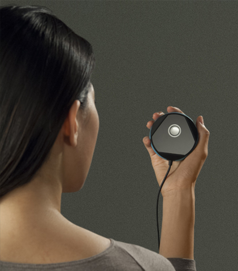 biometric iris reading security device