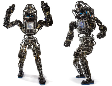 boston dynamics atlas self-balancing humanoid robot