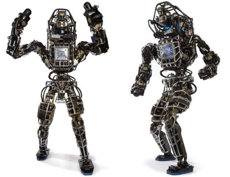 boston dynamics atlas self-balancing humanoid robot