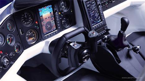 cockpit aeromobil flying car