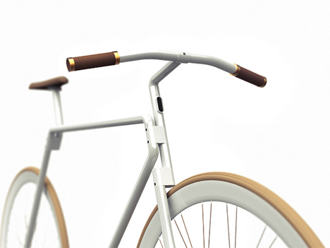 collapsible bike handlebars