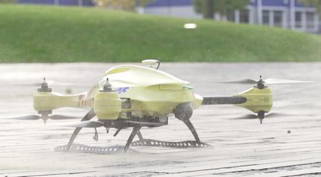 flying ambulance drone