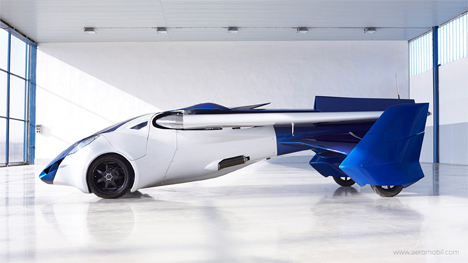 flying car aeromobil