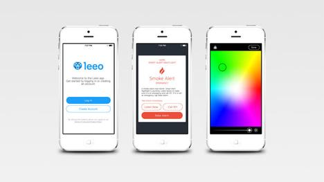leeo smart alert app