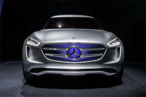 mercedes vision g-code suv