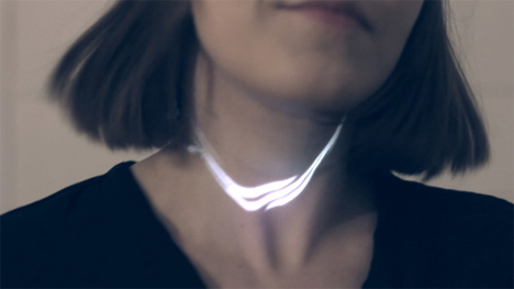 picoprojector necklace