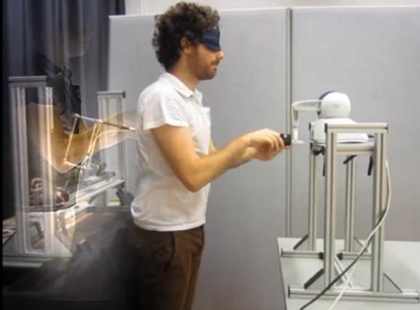 sensorimotor signals experiment