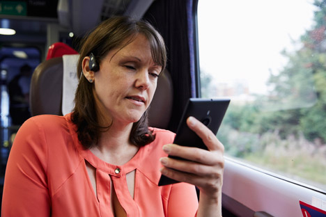 sound navigation for the hearing impaired