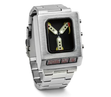 thinkgeek flux capacitor watch